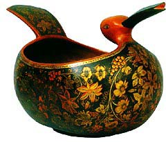 N.Chicalova-Denisova. Duck-shaped scoop