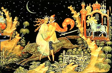 Russian fairy tales - The Firebird