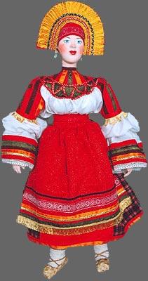 Robe de mariage russe