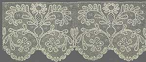 Лента кружев. Начало XX века